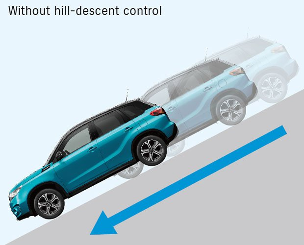 Zonder hill descent control