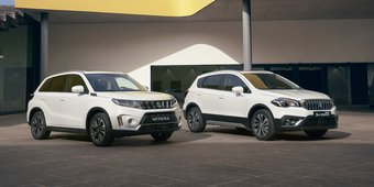 Suzuki Vitara en S-Cross Smart Hybrid